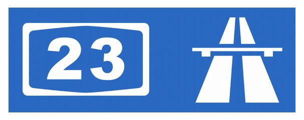 A 23-Symbol mit Reflektierung