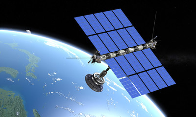 Station solaire spatiale