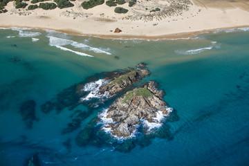 Spoed Fotobehang Oceanië Vista aerea - Sardegna
