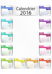 calendrier 2016 multicolore vertical