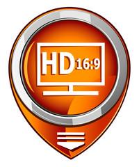 HD display orange pointer