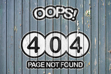 Page not found - 404