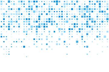 Squares blue technology pattern.