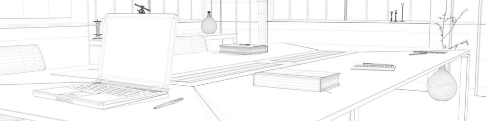 Planung als CAD für Büro