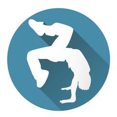Street dancer icon