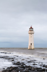 New Brighton Light House, Merseyside, Birkenhead, The Wirrel, England, UK