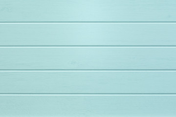 Empty Turquoise wooden planks background