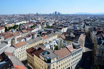 Blick über die Dächer von Wien