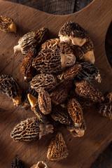 Raw Organic Morel Mushrooms