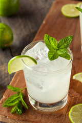 Cold Refreshing Iced Limeade