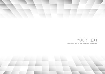 Vector : Abstract gray business background