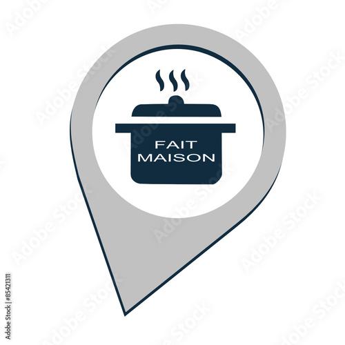 logo fait maison fichier vectoriel libre de droits sur la banque d 39 images image. Black Bedroom Furniture Sets. Home Design Ideas
