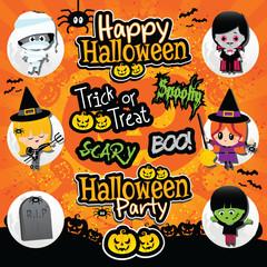 Halloween Background Icons