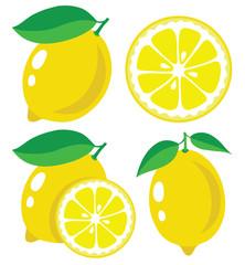 Lemon vector illustration