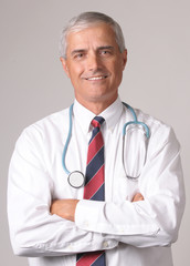 Portrait of Smiling Doctor
