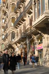 Barcelona Paseo de Gracia fachadas