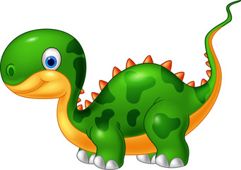 Cartoon cute dinosaur