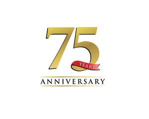 anniversary logo 75th