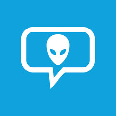 Alien message icon