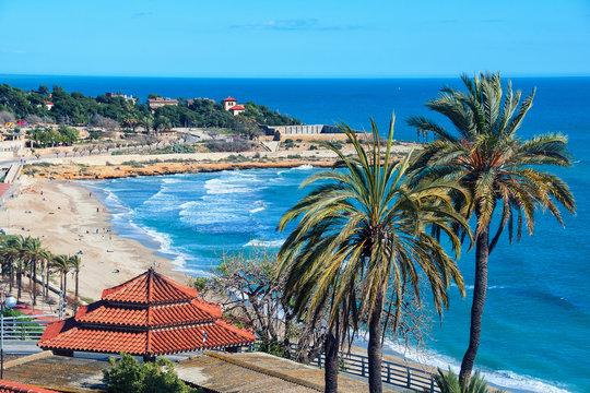 Beach of Tarragona, Spain