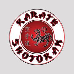 logo karate shotokan