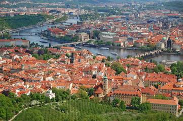 Prague. Chech Republic, cityscape, old town view