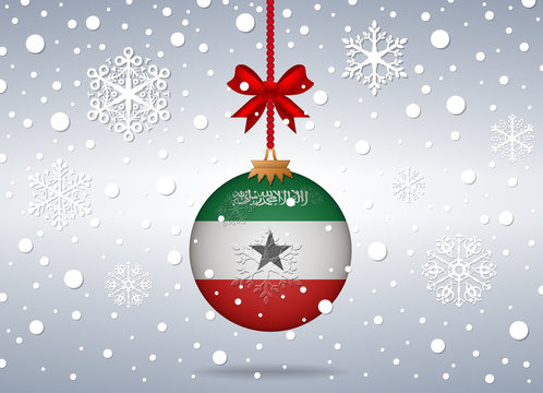 christmas background somaliland
