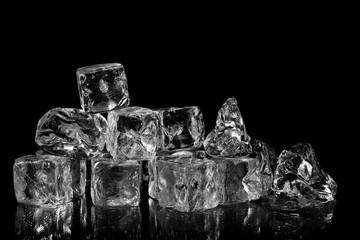Fototapeta ice cubes