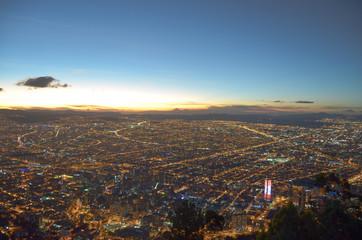 Bogotá Colombia Monzerrate Atenas de América