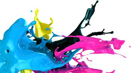 Wall Mural - paint splash