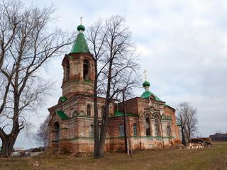Church of the Trinity. Shilovka village. Sverdlovsk region. Russia