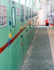 Electric voltage control room