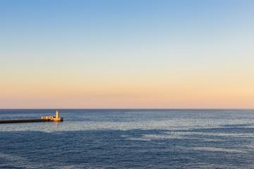 The port of La Valletta, Malta