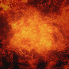 fire background as a symbol of hell and inferno