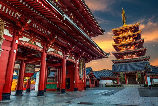 New Year at Sensoji Temple