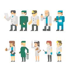 medical, doctor, nurse, vector, health, hospital, team, uniform,