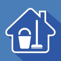 Logo maison et ménage.