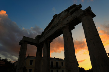 Ancient Roman Market Monastiraki Greece