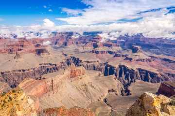 View from Powell point at the Grand Canyon
