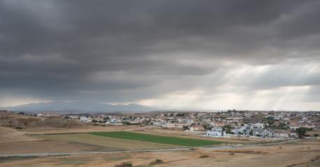 Cityscape of Nicosia, Cyprus