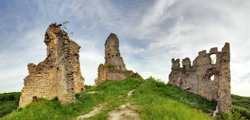 Slovakia - Ruin of castle Korlatko