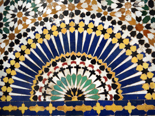 Fliesenornamente aus Marokko - tile art from Morroco