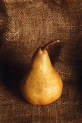 Still life with pear.