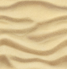 Sand, summer, beach, vector seamless background