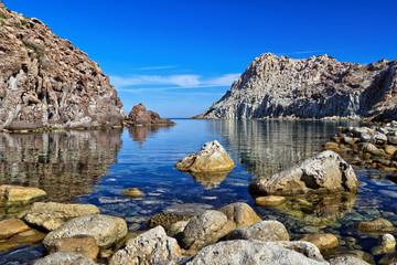 Sardinia - Calafico bay in San pietro isle