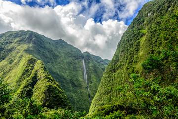 Cascade blanche, Reunion island