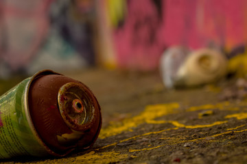 Spray Can Used For Graffiti | Stock image
