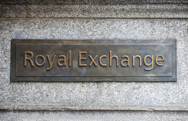 Royal Exchange in London