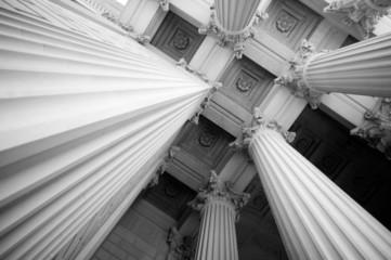 Architectural Columns - fototapety na wymiar