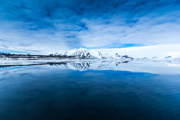 Arctic spring in south Spitsbergen